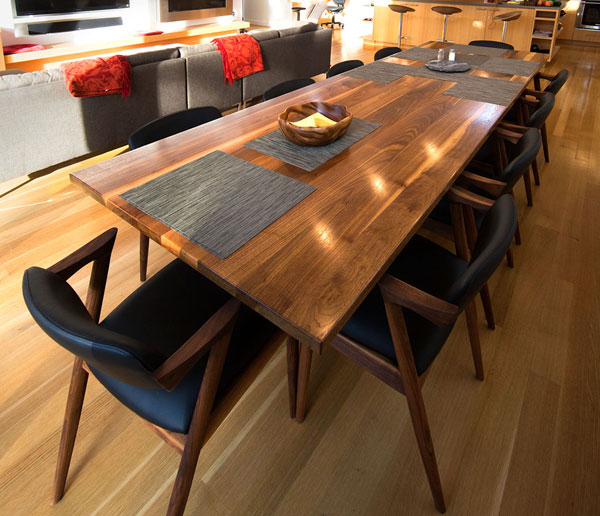 Photo of the Robinia 2 Dining Room Table