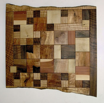 Photo of the Wooden Quilt